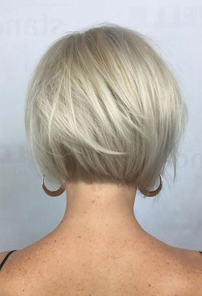 Http Www Msfullhair Com Wp Content Uploads 2019 03 Short Hairstyles For Fine Hair Over 40 V06 Short Hair With Layers Short Hair Styles Easy Short Hair Styles