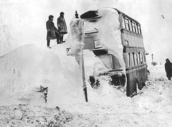 London's great freeze of 1947