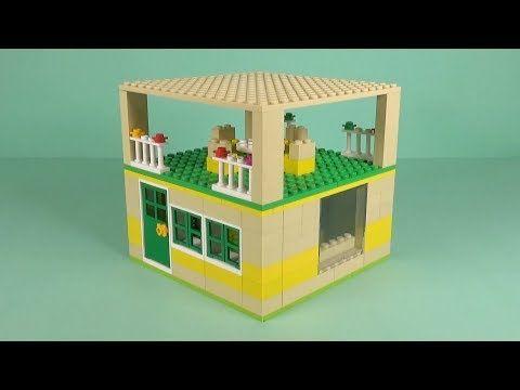 Lego House 035 Building Instructions Lego Bricks How To Build