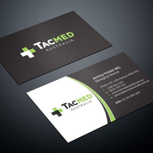 Create awesome business card for niche medical supply