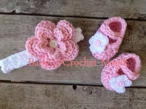 Diademas tejidas a gancho para bebe for Diademas para bebes de ganchillo