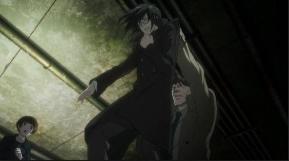 Ginoza getting punished by Masaoka