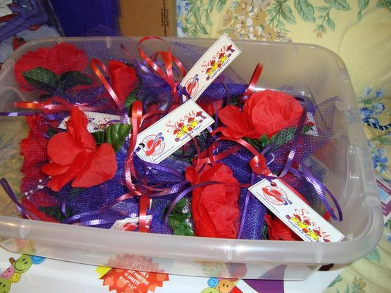 Crafts red hat society and favors on pinterest