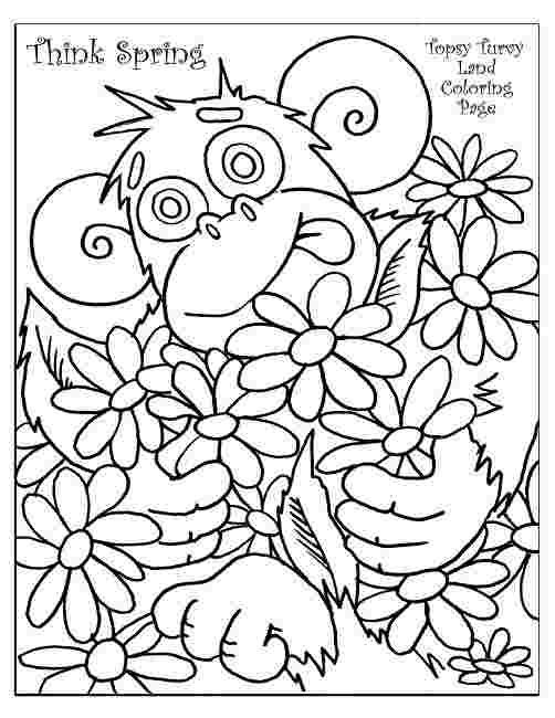 Coloring Pages 1st Grade Spring Coloring Sheets Spring Coloring Pages Coloring Pages
