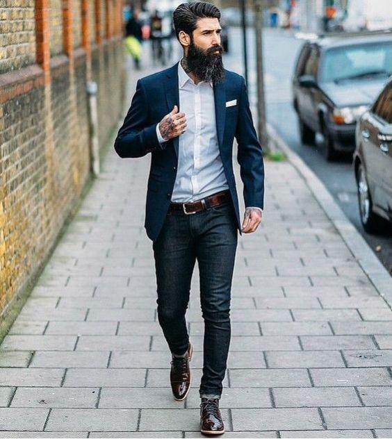 jeans-camisa-bota-blazer-marinho-smart-casual: