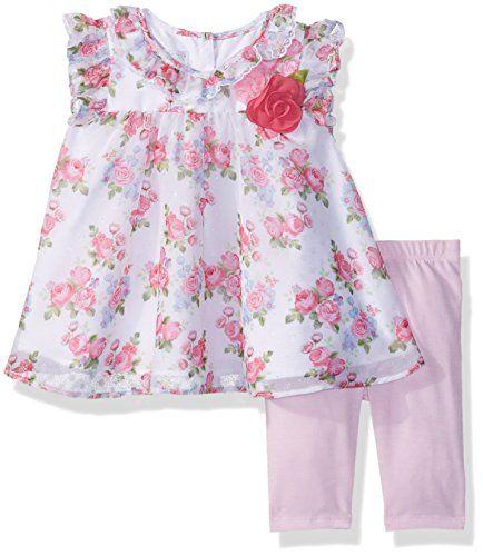 Marmellata Girls Baby-Infant Floral Ruffles Dress