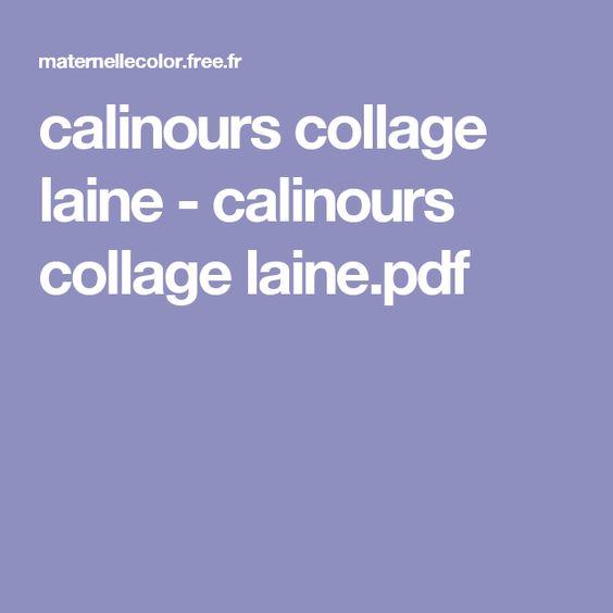 calinours collage laine - calinours collage laine.pdf