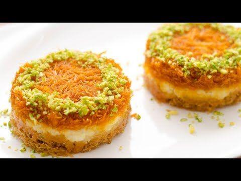 Vermicelli Kunafa Recipe L How To Make Kunafa L Dessert Recipe Youtube Kunafa Recipe Arabic Dessert Turkish Recipes Desserts