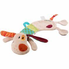 Coffret doudou marionnette Jef le chien - Lilliputiens