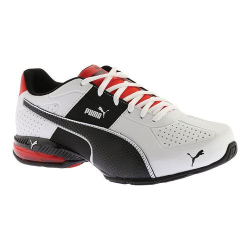 Mens Puma Tergament Sport White Sneakers