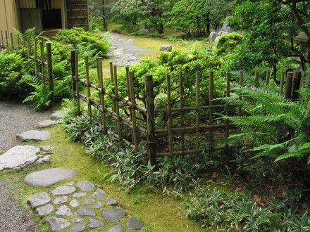 Gardens Memorial gardens and Bamboo fence on Pinterest