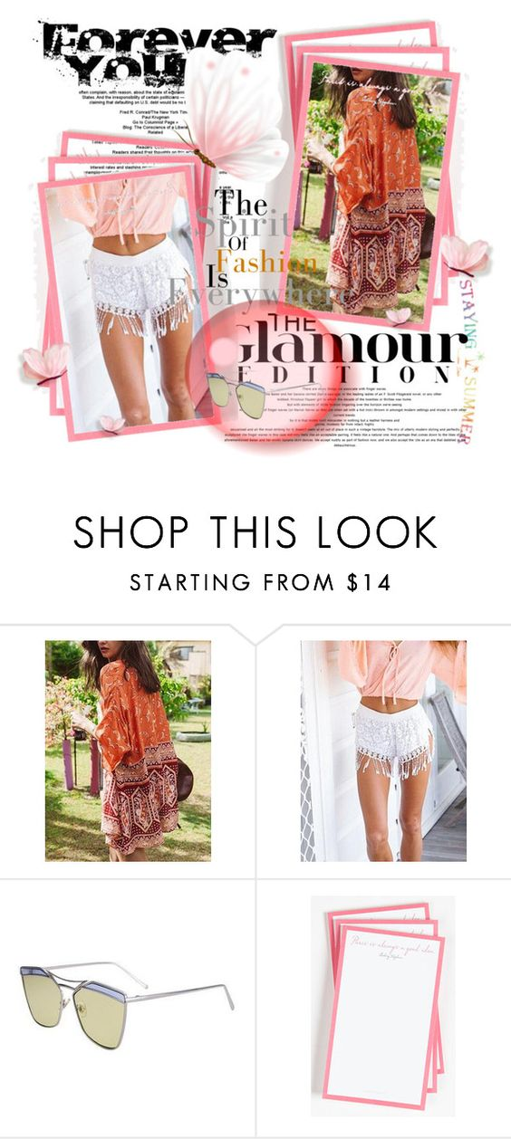 """""""STAYINGSUMMER 37."""" by fashionunion-1 ❤ liked on Polyvore featuring Ben's Garden"""