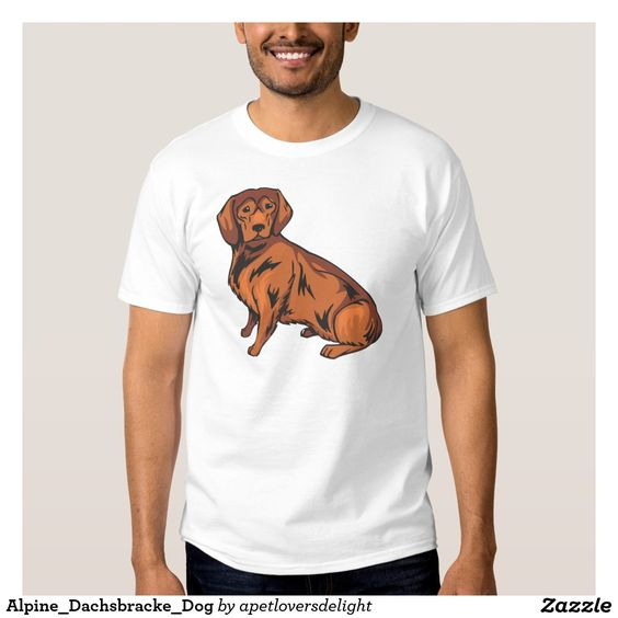Alpine_Dachsbracke_Dog T Shirt