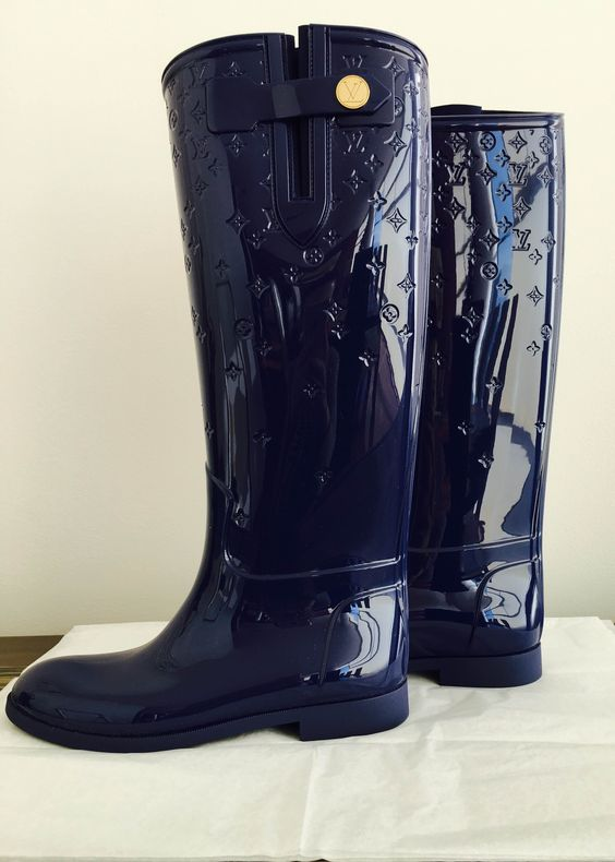 Botas Agua Louis Vuitton