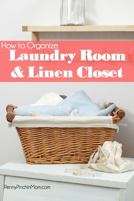 linen closets how to organize and the laundry on pinterest. Black Bedroom Furniture Sets. Home Design Ideas