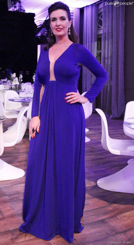 Vestido da Fátima Bernardes. Faça sob medida esse modelo, visite meu site, clica:  costureiro.com.br