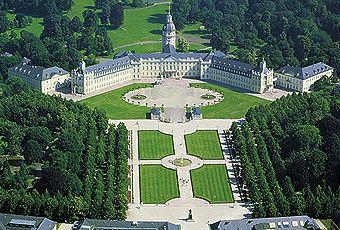 Karlsruhe Palace, Karlsruhe cc @Karlsruhe Tourismus