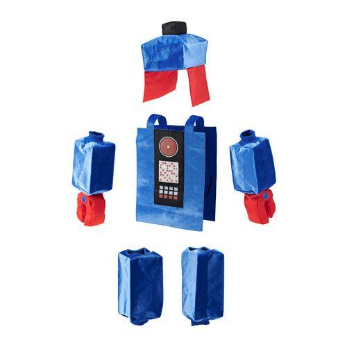 LATTJO plastron déguisement robot  - IKEA (carton ?)