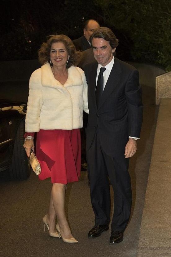 José María Aznar Y Ana Botella En El 80 Cumpleaños De Mario Vargas Llosa Llosa Vargas Llosa Cumpleaños