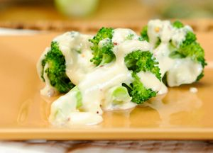 Broccoli with Horseradish Sauce