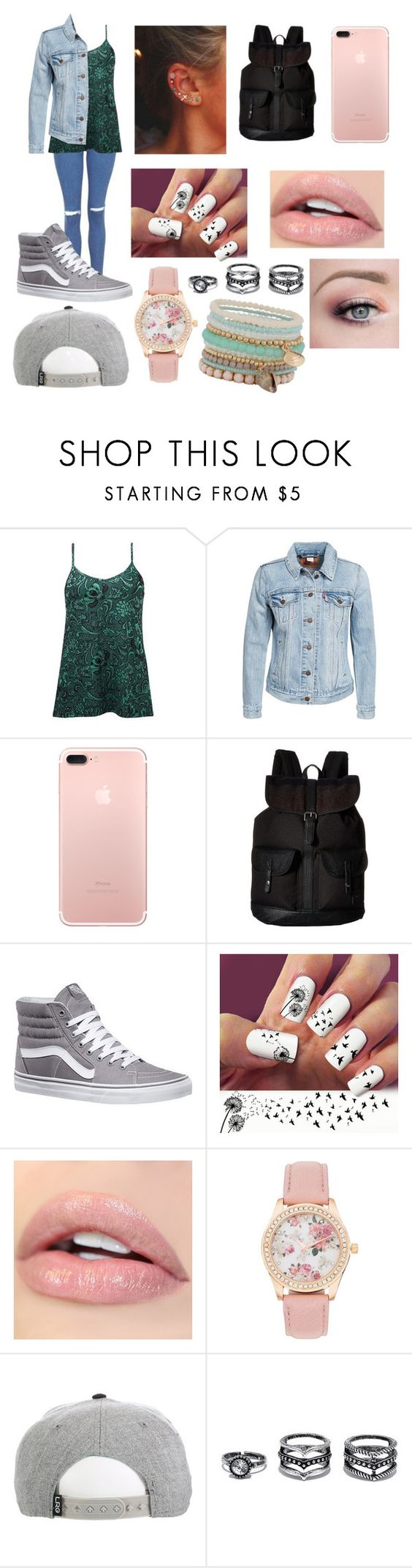 """Lauren's Outfit"" by emilypaul0400 on Polyvore featuring BKE, Levi's, Vans, LULUS and ALDO"