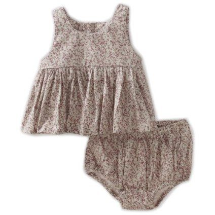 perfect summer baby girl outfit! WHEAT Girls 2-6X Wrinkles Top and Short