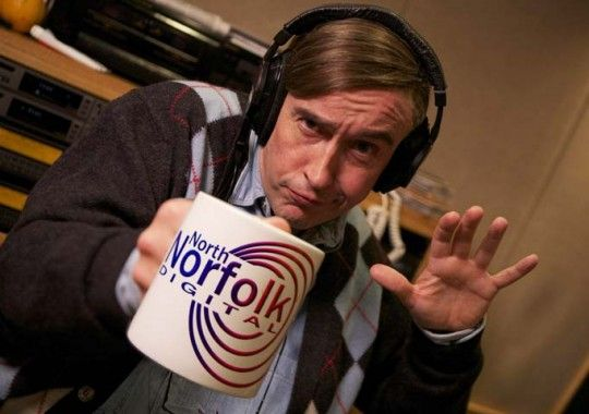 Alan Partridge. Awkward comedy can be awesome.
