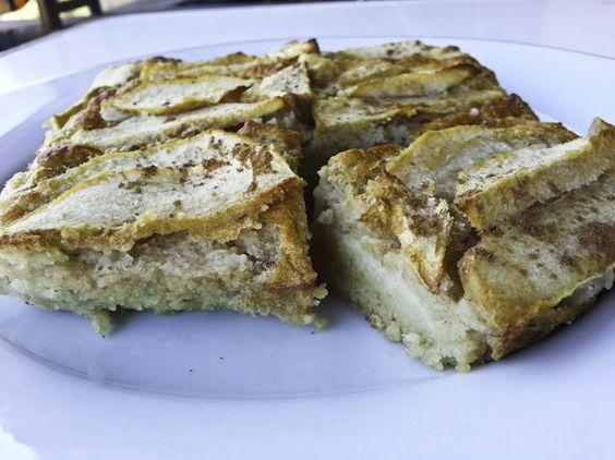 Tarta de manzana fitness (dieta) | mi reflejo de la 48 a la 36