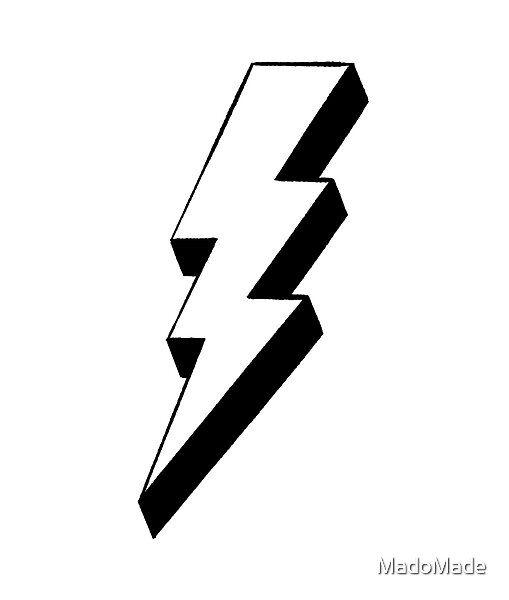 Black And White Lightning Bolt Black And White Photo Wall Black And White Prints Lightning Bolt