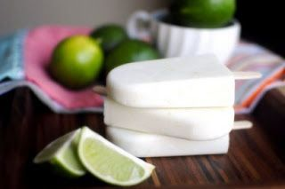 coconut lime popcicles
