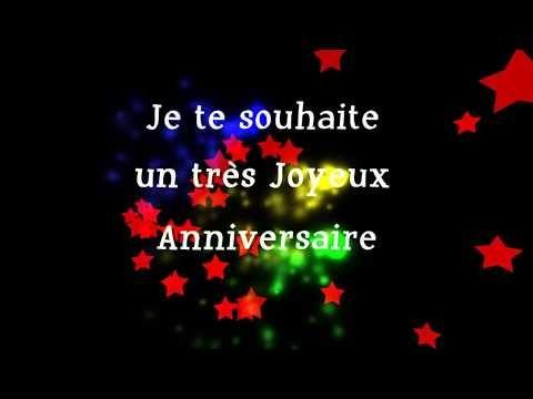 Belle Carte De Joyeux Anniversaire En Francais Joyeux
