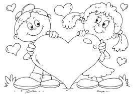 Resultado De Imagen Para Feliz Dia Del Amor Y La Amistad Imagenes Para Colorear Valentines Day Coloring Page Valentine Coloring Pages Valentines Day Coloring