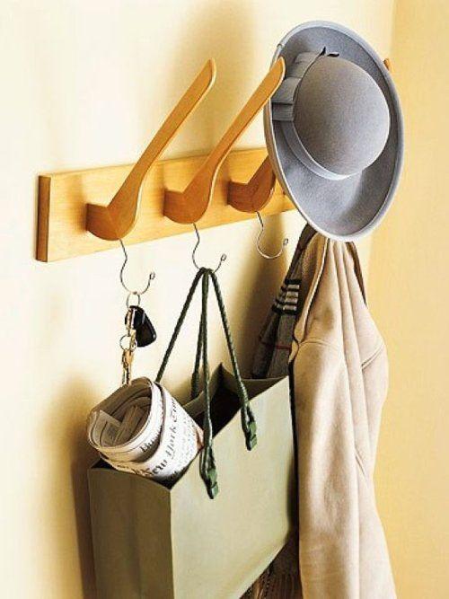hanger Coat rack #upcycle