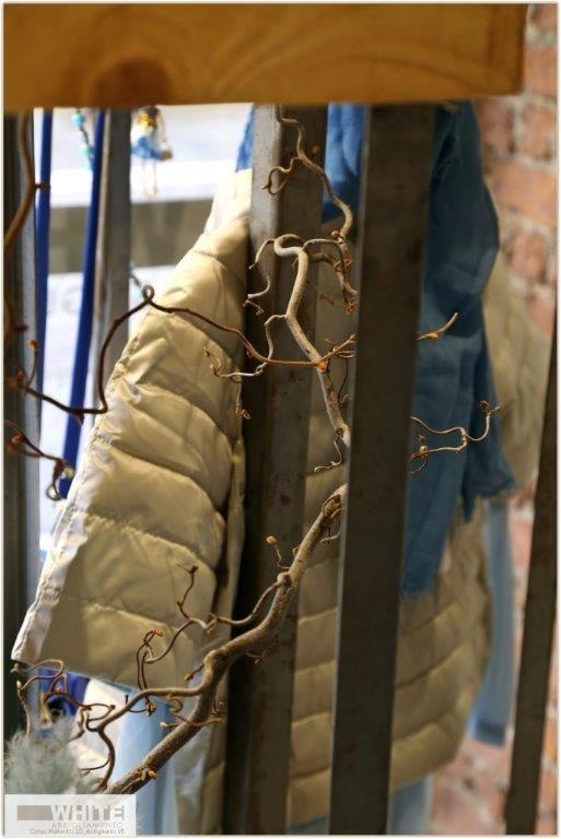 Cappa-piumino extra-light del marchio Rinasicmento, con abbottonatura, collo ad anello, maniche a tre quarti e vestibilità leggermente svasata. https://www.facebook.com/whitearzignano #womaswear #modadonna #giacca #ss15 #italianstyle