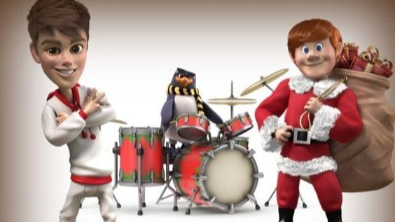 Justin  Santa Claus is coming to town