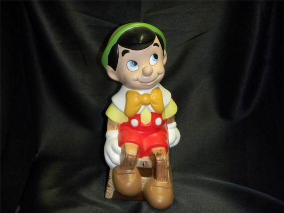 Vintage Ceramic Pinocchio Figurine Walt Disney Productions Hand Painted 1970'S | eBay