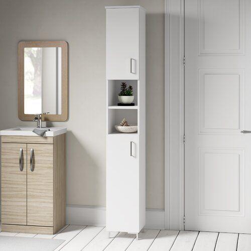 Atlanta 30 5 X 200 Tall Bathroom Cabinet Fackelmann
