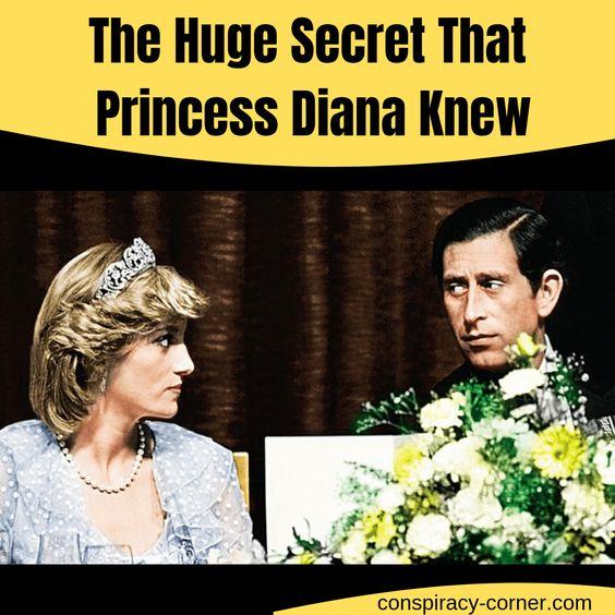Het enorme geheim dat prinses Diana wist