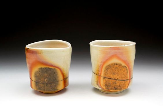 Night And Day Two Wood Fired Porcelain Tea von BenCirginPottery, $80.00