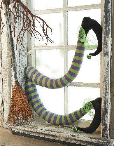 Mud Pie Halloween Witch's Legs Fun Holiday Decor by Mud Pie, http://www.amazon.com/dp/B00ERXVO6K/ref=cm_sw_r_pi_dp_ZxZlsb17MFSGJ