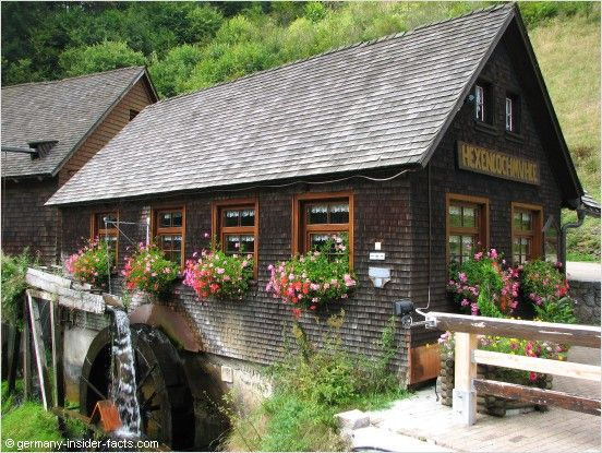 old mill in the Black Forest, Germany