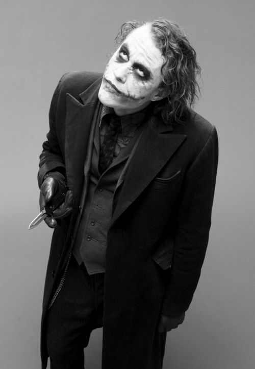 The Joker; Heath Ledger