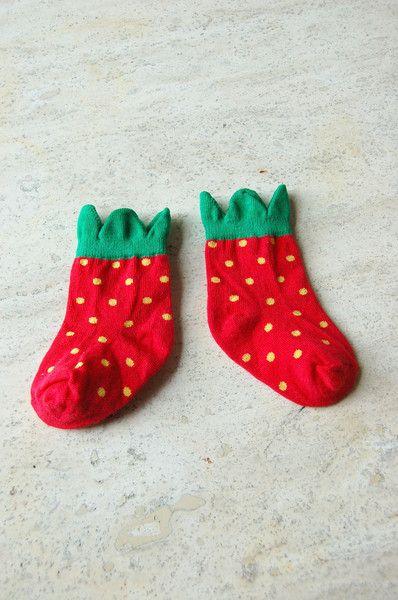 hansel from basel strawberry socks.