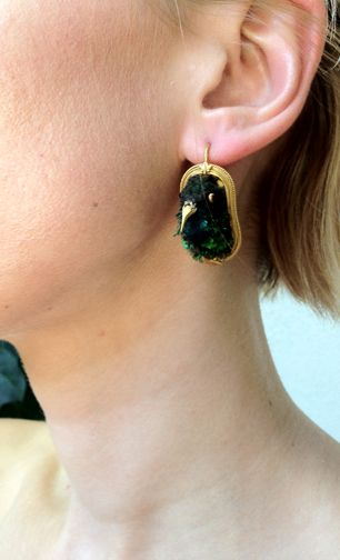 Victorian Hummingbird Earrings