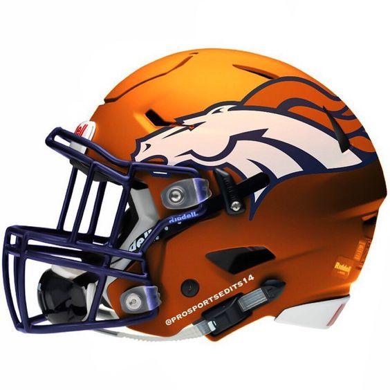 Denver Broncos helmet! We'll see you this Sunday!