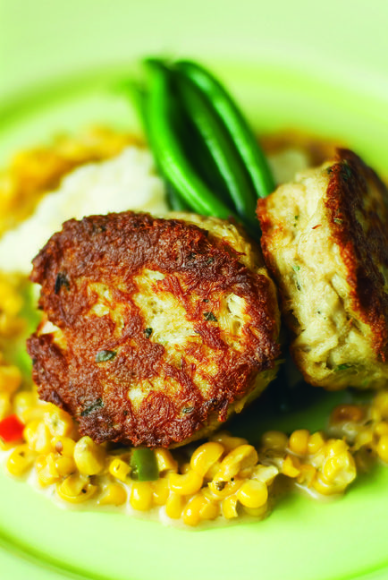 explore potatoes haricots corn maque and more sweet corn crab cakes ...
