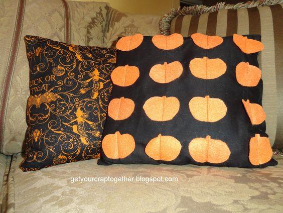 halloween pillow sew - Поиск в Google