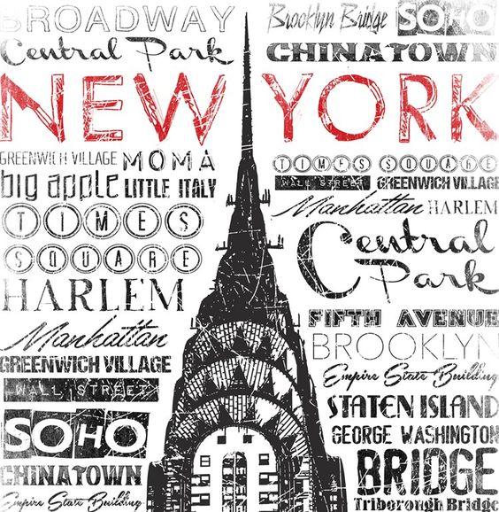Jace Grey New York Words