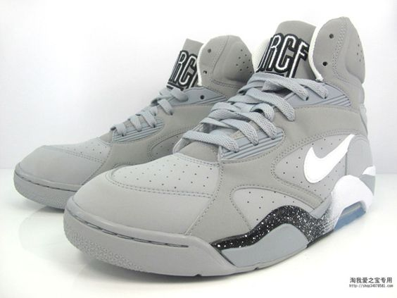 Nike Air Force 180 High \u0026quot;Wolf Grey\u0026quot; something about that color always ...