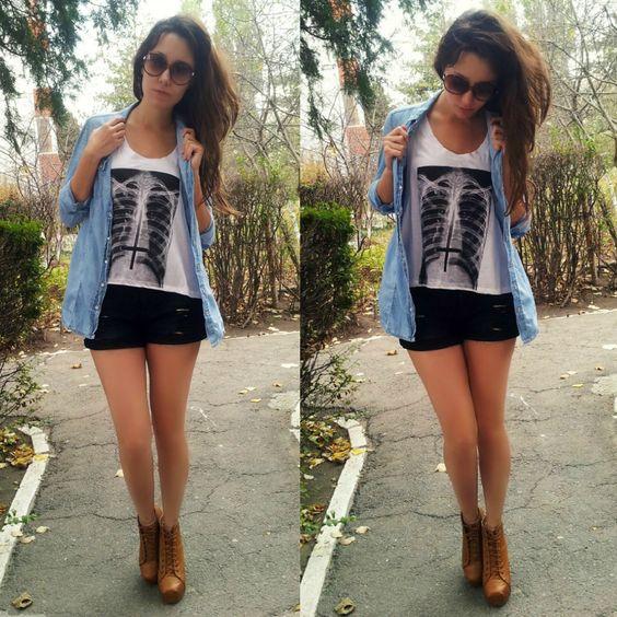 J'adore Fashion: Denim & Heels